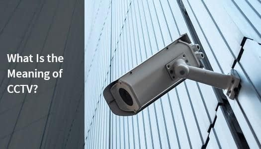 CCTV camera mounted on a business building in Australia.