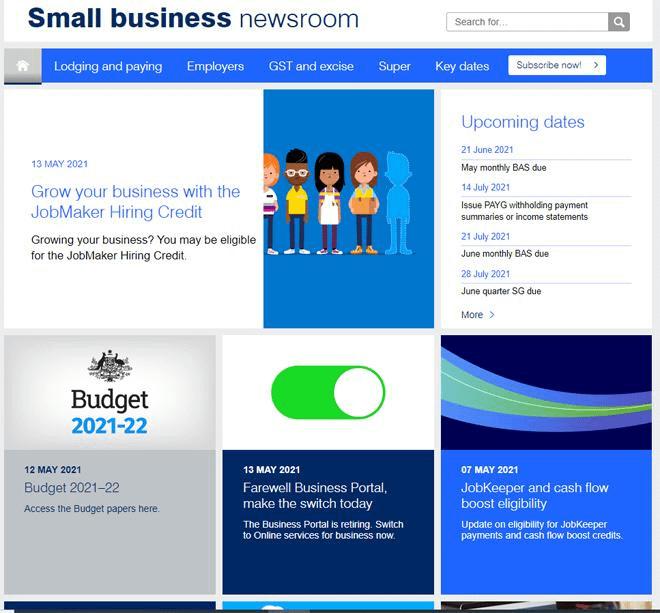 Ato Small Business Newsroom May / June