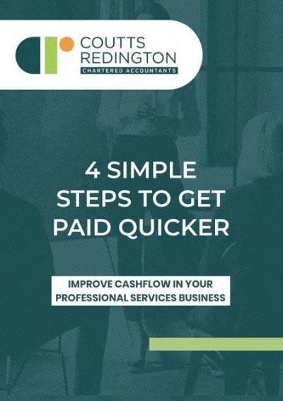 Couuts Redington Chartered Accountants ebook improve cashflow for business.